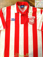 1992/93 Olympiacos Home Football Shirt (XL)