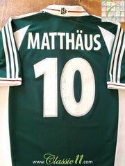 2000/01 Germany Away Football Shirt Matthäus #10 (XL)