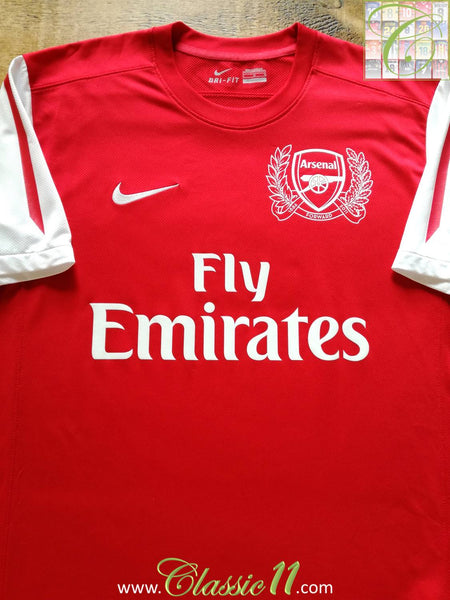 c443c379b 2011 12 Old Vintage Arsenal Home Football Shirt   Old Soccer Jersey ...