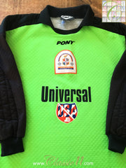 1995/96 Luton Town Goalkeeper Football Shirt (M)