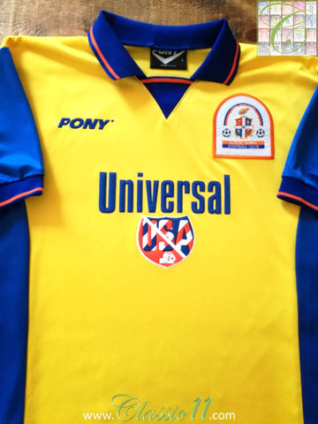 1996/97 Luton Town Away Football Shirt (L)