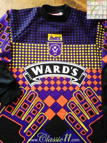 1996/97 Sheffield United Goalkeeper Football Shirt (L)