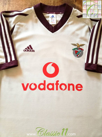 2001/02 Benfica Away Football Shirt (L)