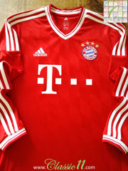 2013/14 Bayern Munich Home Football Shirt. (S)