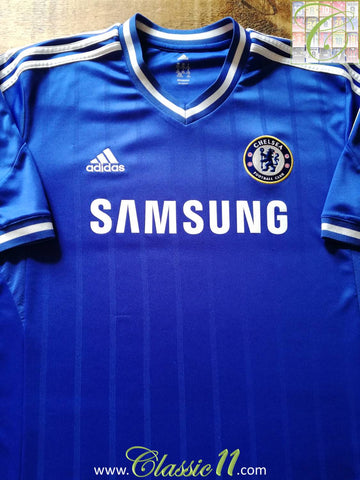 2013/14 Chelsea Home Football Shirt (S)