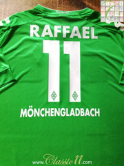 2016/17 Borussia Monchengladbach Away Football Shirt Raffael #11 (4XL)