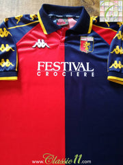 1999/00 Genoa Home Football Shirt (XL)