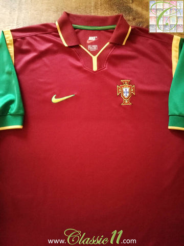 1998/99 Portugal Home Football Shirt (XL)