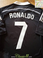2014/15 Real Madrid 3rd Football Shirt Ronaldo #7 (S)