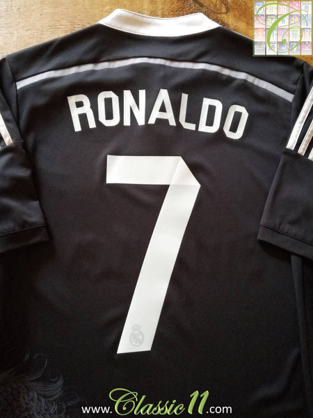 new style 1683e 978d1 2014/15 Real Madrid 3rd kit La Liga Football Shirt Ronaldo ...
