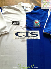 1996/97 Blackburn Rovers Home Football Shirt (L)