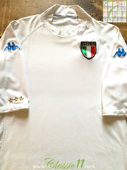 2002/03 Italy Away Football Shirt (XXL)