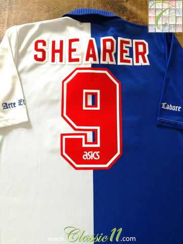 1994/95 Blackburn Rovers Home Football Shirt Shearer #9 (XL)