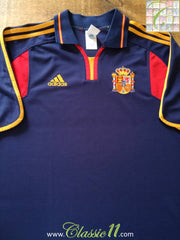 2000/01 Spain Away Football Shirt (L)