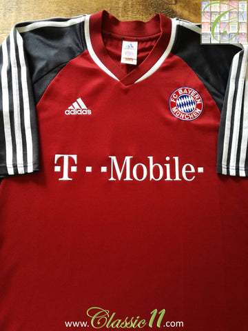 2002/03 Bayern Munich Home Football Shirt (XL)
