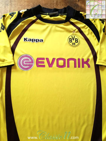 2009/10 Borussia Dortmund Home Football Shirt (L)