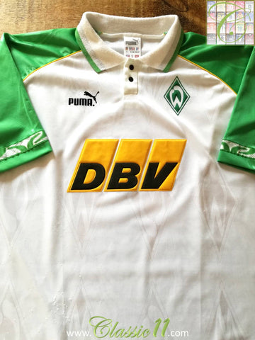 1995/96 Werder Bremen Home Football Shirt (XL)