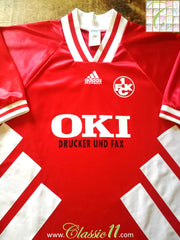 1994/95 1. FC Kaiserslautern Home Football Shirt (XL)
