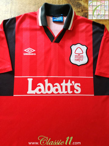 1994/95 Nottingham Forest Home Football Shirt (XL)