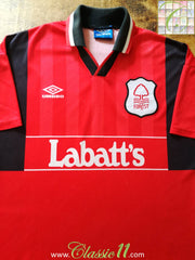 1994/95 Nottingham Forest Home Football Shirt (XXL)