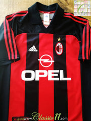 2000/01 AC Milan Home Football Shirt (L)
