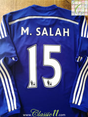 2014/15 Chelsea Home Premier League Football Shirt Salah #15 (S)