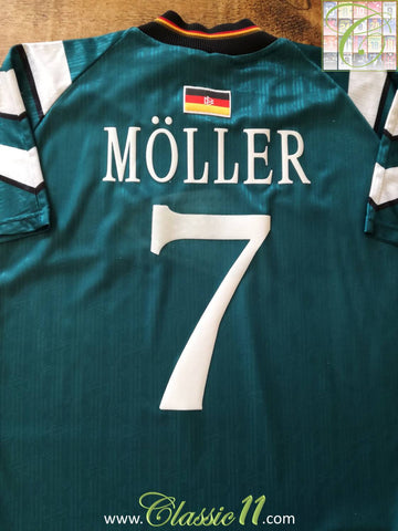 1996/97 Germany Away Football Shirt Möller #7 (L)