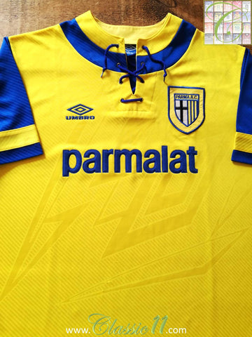 1993/94 Parma Away Football Shirt (XL)