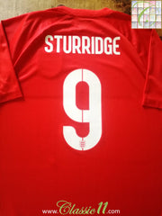 2014/15 England Away Football Shirt Sturridge #9 (L)