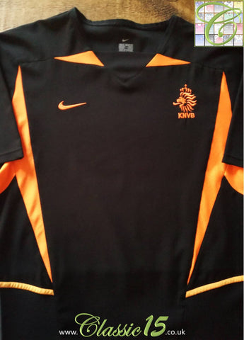2002/03 Netherlands Away Football Shirt (M)