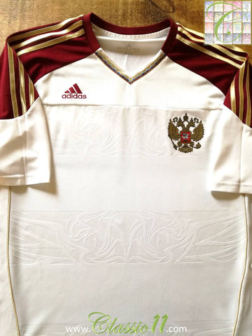 2010/11 Russia Away Football Shirt (XXL)