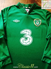 2012/13 Republic of Ireland Home Football Shirt. (M) (L)