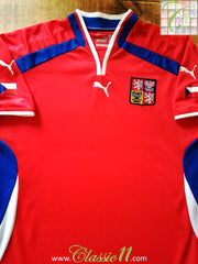 2000/01 Czech Republic Home Football Shirt (XL)