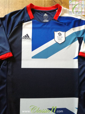 2012 Great Britain Home Olympic Football Shirt (L)