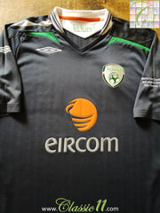 2008/09 Republic of Ireland 3rd Match Details Football Shirt (L)