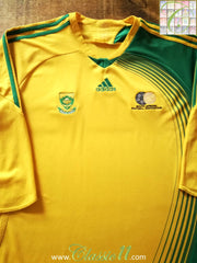 2007/08 South Africa Home Football Shirt (XL)