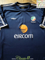 2001/02 Republic of Ireland Football Training Shirt (XL)