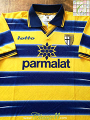1998/99 Parma Home Football Shirt (L)