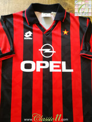 1994/95 AC Milan Home Football Shirt (M)
