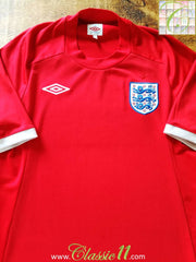 2010/11 England Away Football Shirt (M) (L)