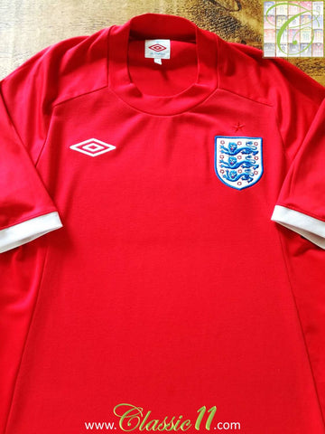2010/11 England Away Football Shirt (XL)