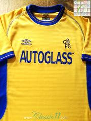 2000/01 Chelsea Away Football Shirt (L)