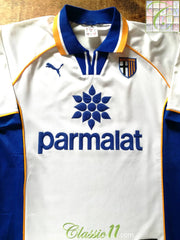 1997/98 Parma Home Football Shirt (XL)