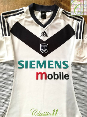 2002/03 Bordeaux Away Football Shirt (L)