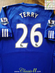 2009/10 Chelsea Home Premier League Football Shirt Terry #26 (L)