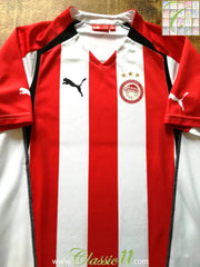 2005/06 Olympiacos Home Football Shirt (M)