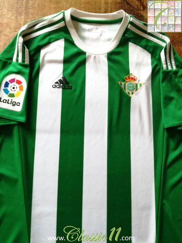 2016/17 Real Betis Home La Liga Football Shirt (L)