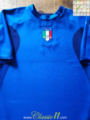 2006 Italy Home Football Shirt (XL)