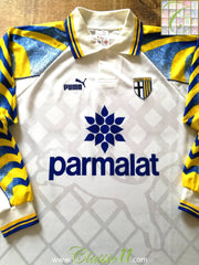 1995/96 Parma Home Football Shirt. (XXL)