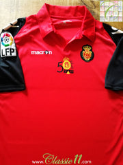 2009/10 RCD Mallorca Home La Liga Football Shirt (XL)